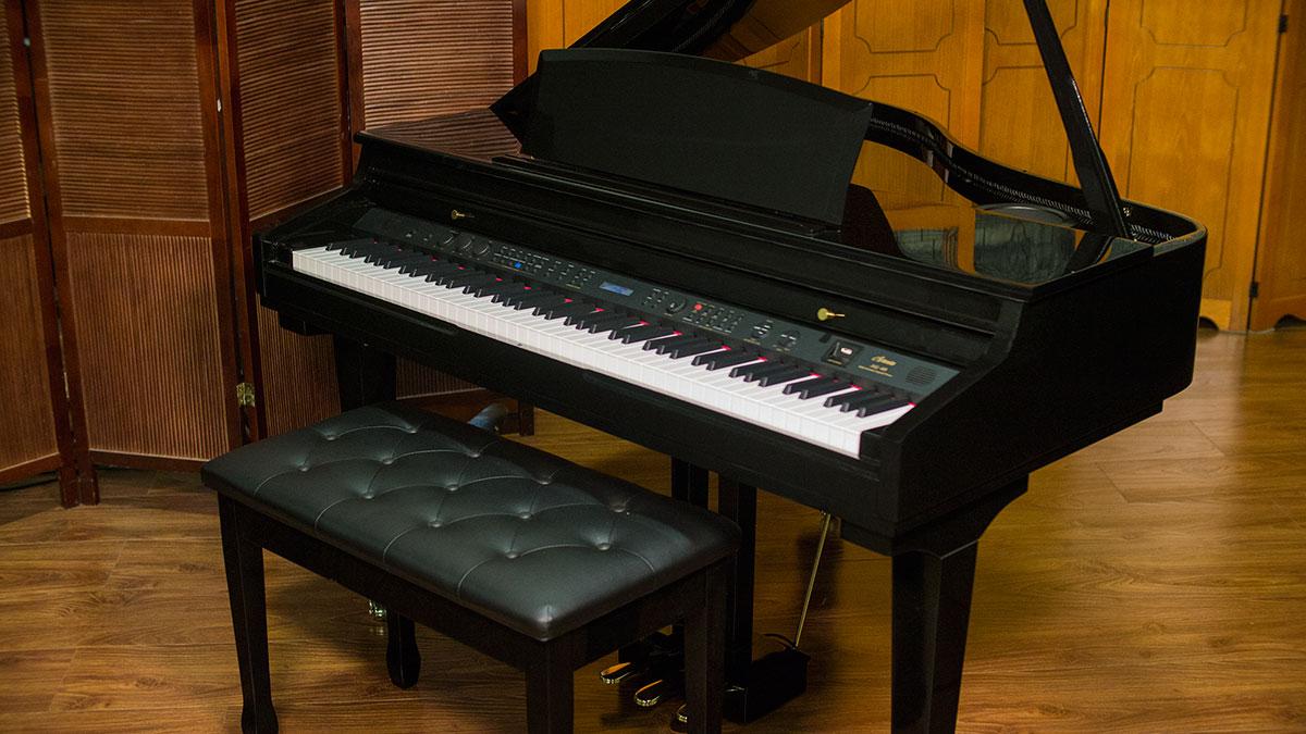 Digital Baby Grand Piano >> Artesia Digital Grand Piano Ag 40